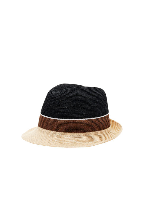 Hemp Trilby Navy Crown