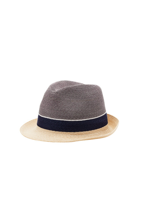Hemp Trilby Gray Crown