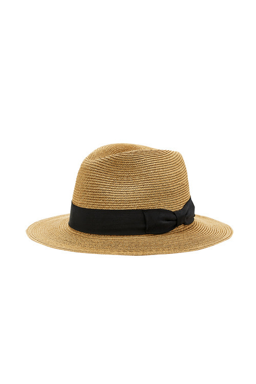 Hemp Goldbrown Fedora